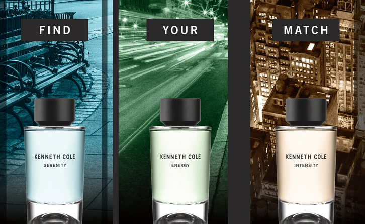 New Kenneth Cole perfume
