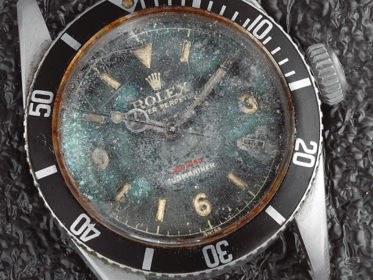 Old Rolex (1964) sold on auction for £181,25 / Bonhams auctions