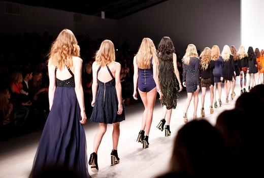 Tori Bowie at Paris Fashion Week