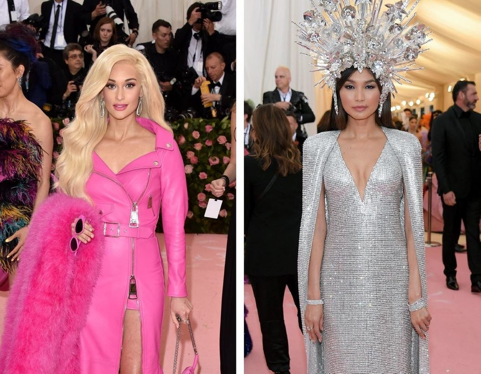 Kacey Musgraves and Gemma Chan Sparkle in Forevermark Diamonds at the 2019 Met Gala